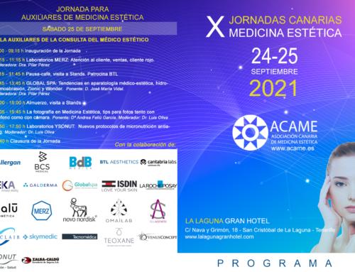 PROGRAMA de las X Jornadas Canarias de Medicina Estética